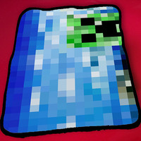 Kids Blanket Game Blanket All Character Popular Game Minecraft Blanket Fleece Blanket