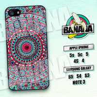 Mandala, Floral, Pattern, iPhone 5 case, iPhone 5C Case, iPhone 5S case, Phone case, iPhone 4 Case, iPhone 4S Case, Phone Skin, MA04