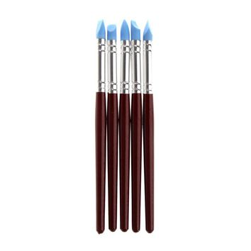5 pcs set Pottery Clay Sculpture Carving Tools Art Craft Supplies Size S