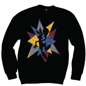 The Fresh I Am Clothing Bugs Bordeaux 7's Crewneck