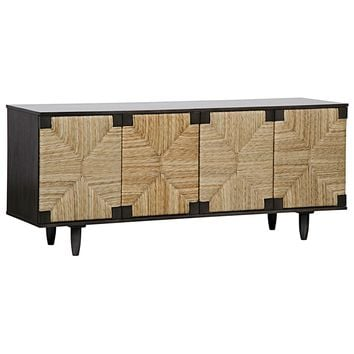 Noir Brook 4 Door Sideboard | New Furniture | What's New! | Candelabra, Inc.