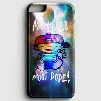 Mac Miller Most Dope Galaxy Nebula iPhone 6/6S Case
