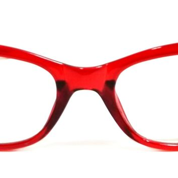 WOMEN CAT EYE READING GLASSES THE TULIP FASHION VINTAGE STYLE FRAME READERS