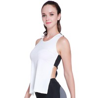 Women Yoga Top Gym Sports Vest Sleeveless Shirts Quick Dry Breathable Tank Tops  Fitness Running Clothes Sexy Gym Sportswear