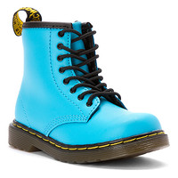Dr. Martens Brooklee 8-Eye Lace Boot Infant | Girls' - Wild Aqua Softy T