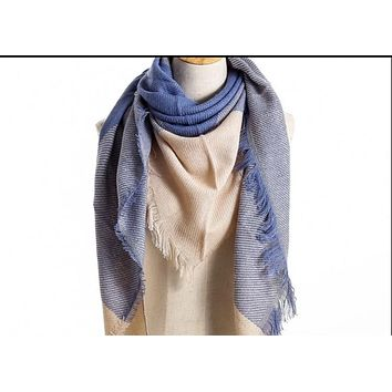 Luxury Brand Cotton Winter Scarf For Women Scarf