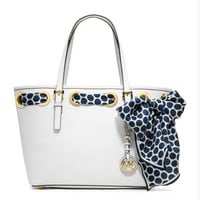 MICHAEL Michael Kors Small Jet Set Scarf Tote