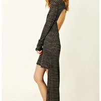 Blue Life - Open Back Knit Hi-Lo Dress