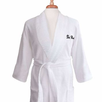 Lakeview Signature Egyptian Cotton Terry Spa Robes - Gift Shop Wedding/ Anniversary