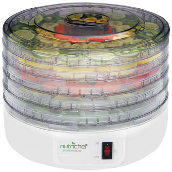 Pyle Home Nutrichef Electric Countertop Food Dehydrator And Food Preserver