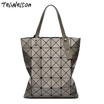 Brand New Baobao Women Pearl Bags Mirror Sac Diamond Lattice Tote Geometry 6x7 Quilted Shoulder Bag Handbags with Logo and Tags