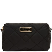 Marc by Marc Jacobs Large Black Crosby Quilted Cosmetic Bag | Accessories | Liberty.co.uk