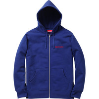 Supreme: Piss Face Zip-Up - Royal