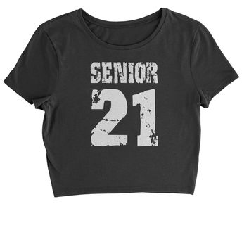 Seniors '21 Class of 2021 Cropped T-Shirt