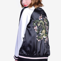 Reversible Cherry Blossom Jacket
