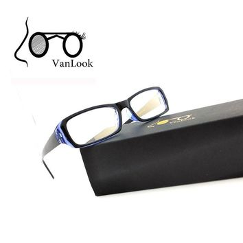 Computer Glasses Anti Blue Ray Spectacle Frame Transparent Eyeglasses for Women Men Oculos De Grau Clear Goldish Lens
