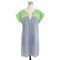 J.Crew Womens Embroidered Dolman Tunic