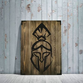 Spartan Wooden Wall Art