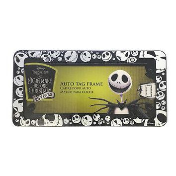 Licensed Official New Nightmare Before Christmas Jack Car Truck Automotive License Plate Frame