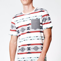 On The Byas Homie Printed Pocket T-Shirt at PacSun.com