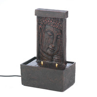 Peaceful Buddha Tabletop Water Fountain