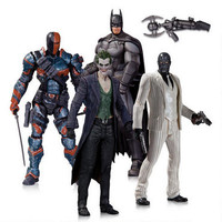 Arkham Origins: Batman, Deathstroke, Black Mask and Joker Action Figure Four Pack Set |