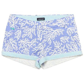 The Brighton Printed Reef Short in Lilac Purple by Southern Marsh - FINAL SALE