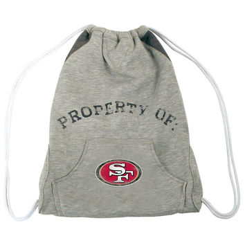 San Francisco 49ers NFL Hoodie Clinch Bag