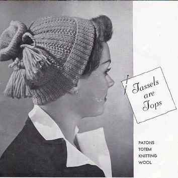Hats Gloves Stoles Vintage 1940s Knitting Patterns Book Patons 389 ORIGINAL patterns not PDF