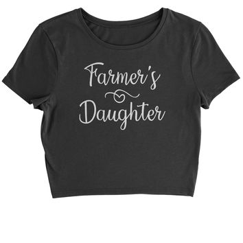 Farmer's Daughter Cropped T-Shirt