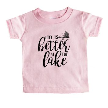 Life Is Better At The Lake Baby Tee