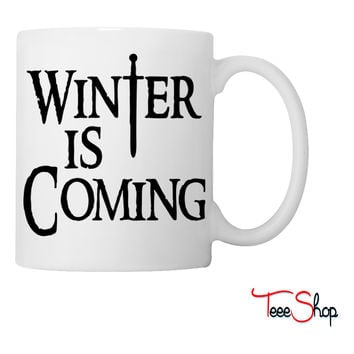 Winter Is Coming Coffee & Tea Mug