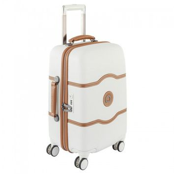 """Delsey Chatelet Hard+ 21"""" Carry-On Spinner Suiter Trolley"""