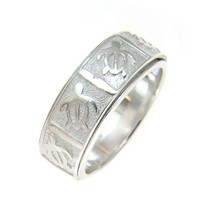 STERLING SILVER 925 HAWAIIAN HONU TURTLE SPIN SPINNING RING SIZE 5 -12