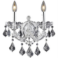 Karla - Wall Sconce (2 Light Traditional Crystal Wall Sconce) - 2380W2
