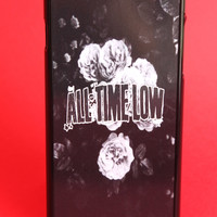 All Time Low Gray Roses Phone Case