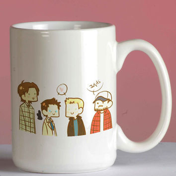 Supernatural mug coffee, mug tea, size 8,2 x 9,5 cm