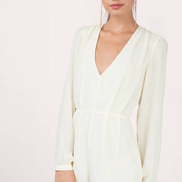 Jaya Pleated Romper