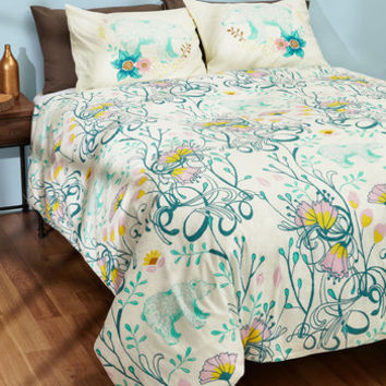 Cub Back to Bed Duvet Cover in Full/Queen