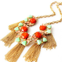 'The Lydia' Statement Necklace