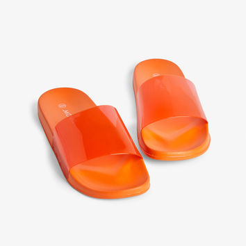 Beach sandals - Atomic orange juice - Shoes - Monki GB