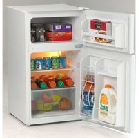 Avanti 3.1 Cu. Ft. 2 Door Cycle Refrigerator White Qty of 1