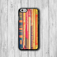 Vintage Book Novel Art Phone Cases iPhone 6/ 6S iPhone 5/ 5S/ 5C Accessorie Electronics Cases Sepia Phone Cover Christmas Present For HER