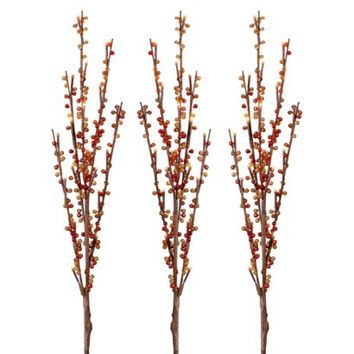 Philips Multicolor 60 Light LED Beaded Twig Stake Lights (3)