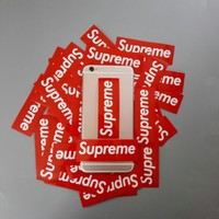 50pcs/lot Fun Cartoon Supreme Stickers For Car Doodle stickers Laptop Luggage Skateboard Motorcycle Snowboard Decal