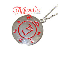 SUPERNATURAL Angel Banishing Sigil Pendant Necklace