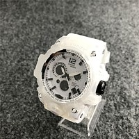WHITE Casio G-SHOCK Sport Analog Dive Watch for Women Men Gift