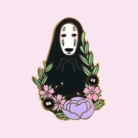 Spirit Among The Flowers Pin