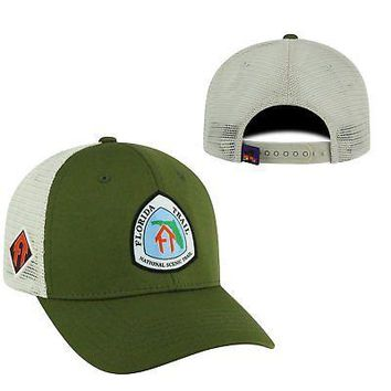 Licensed Florida Trail Adjustable Ranger 1 Hat Cap Mesh Curved Bill Top of the World KO_19_1
