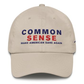 Common Sense Dad Cap